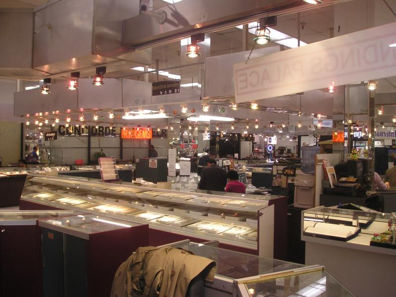 Is the los angeles jewelry district open on sundays for Fashion jewelry district los angeles